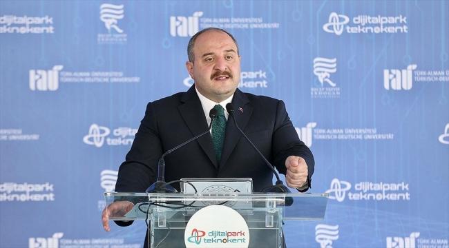 Bakan Varank: Teknoparklarımızda çalışan Ar-Ge personeli sayısı 60 bine yaklaştı