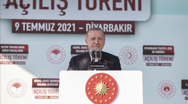 Cumhurbaşkanı Erdoğan: Diyarbakır Cezaevi'ni yakında boşaltıyor, kültür merkezi olarak hizmete sunuyoruz