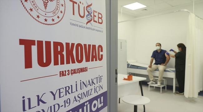 Gönüllüler Faz-3 aşamasındaki yerli aşı TURKOVAC için seferber oldu