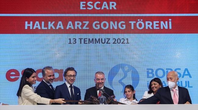 Halka arzını tamamlayan Escar, Borsa İstanbul'da 'ESCAR' koduyla işlem görmeye başladı