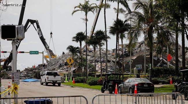 Miami'de çöken 13 katlı binanın enkazından çıkarılan ceset sayısı 78 oldu