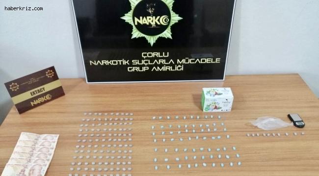 Çerkezköy'de uyuşturucu operasyonu: 2 gözaltı
