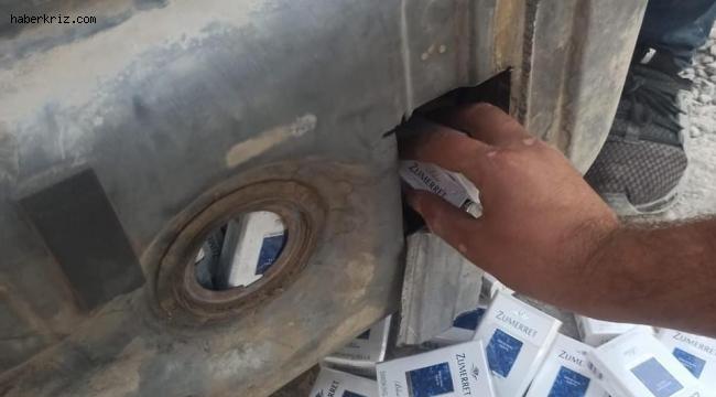 Ceylanpınar'da kaçak cep telefonu ve sigara ele geçirildi
