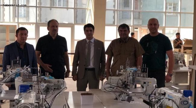 Diyadin'de tekstil atölyesi kuruluyor