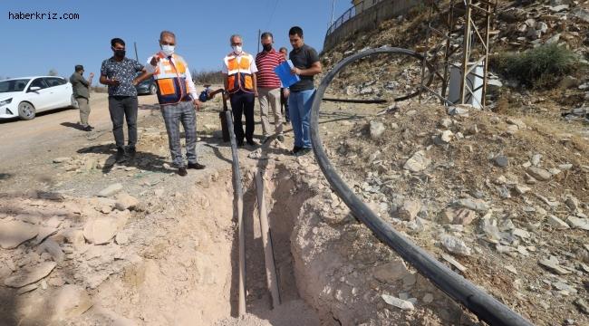 Diyarbakır'da kırsal mahalleler kesintisiz içme suyuna kavuşuyor