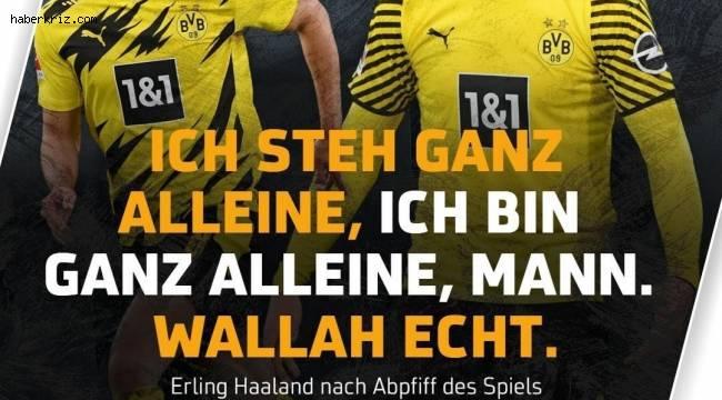 Dortmund'un yıldızı Halaand'dan Arapça yemin