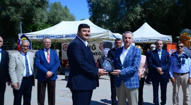 Gakkoşlardan Kahramankazan'da peynirli ekmek festivali