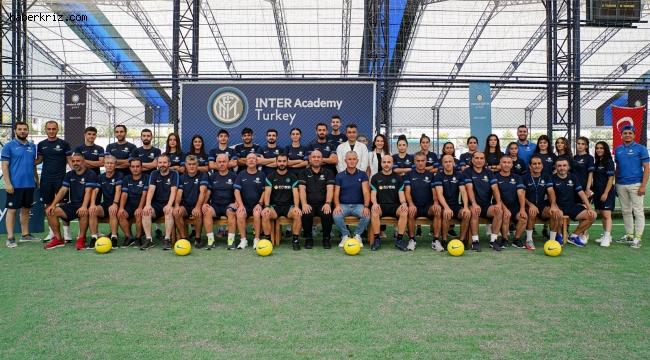 Inter Academy antrenörleri Mersin'de