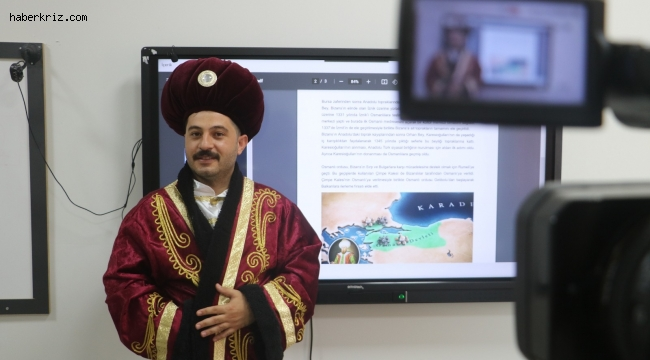 Malatyalı öğretmen, tarihi yaşatarak sevdiriyor