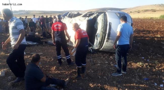 Mardin'de trafik kazası: 10 yaralı