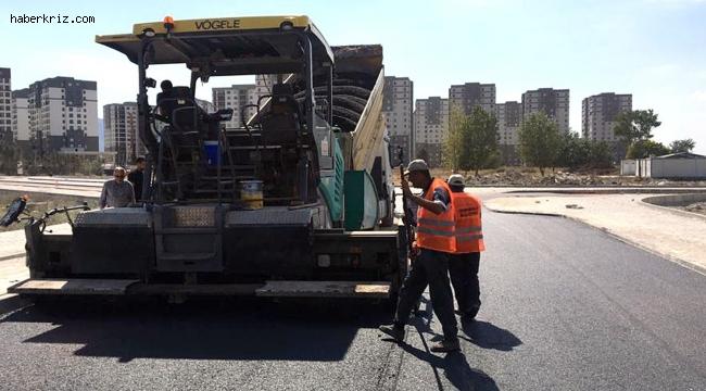 Osmangazi'de yollar asfaltla kaplanıyor