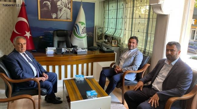 Rektör Turgut'dan Başkan Yıldırım'a ziyaret
