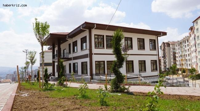 Şehit Kubilay Mahalle Konağı'nın yapımı tamamlandı