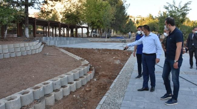 """Siirt Valisi Hacıbektaşoğlu, """"Millet bahçesi, yüzde 80 yeşil alanı ile yepyeni bir sosyal yaşam alanı olacak"""""""