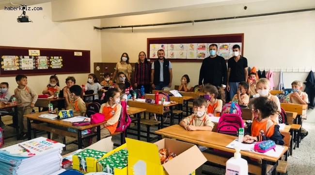 STK'lardan minik öğrencilere ziyaret