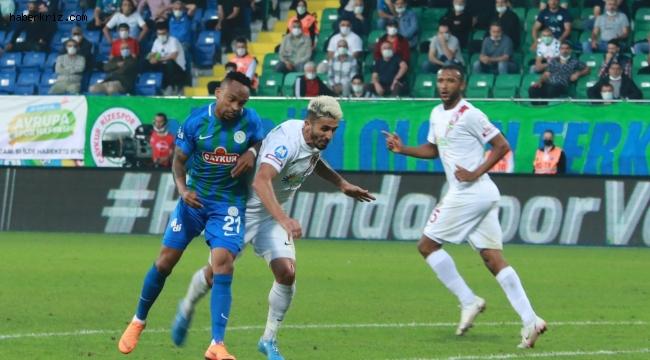 Süper Lig: Çaykur Rizespor: 0 - A. Hatayspor: 2