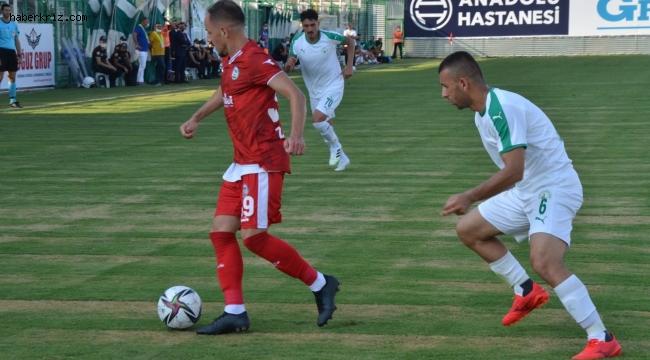 TFF 2. Lig: Serik Belediyespor - Sivas Belediyespor : 0 - 3