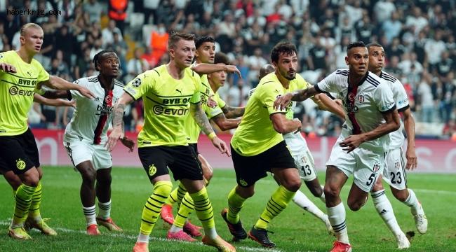 UEFA Şampiyonlar Ligi: Beşiktaş: 1 - Borussia Dortmund: 2