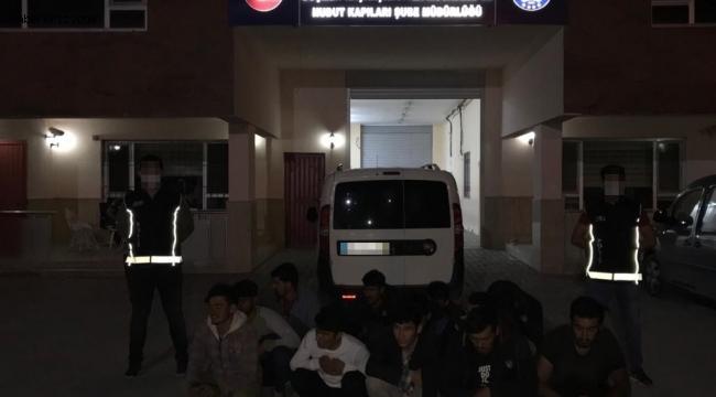 Van polisi 1 haftada 299 kaçak göçmen yakaladı