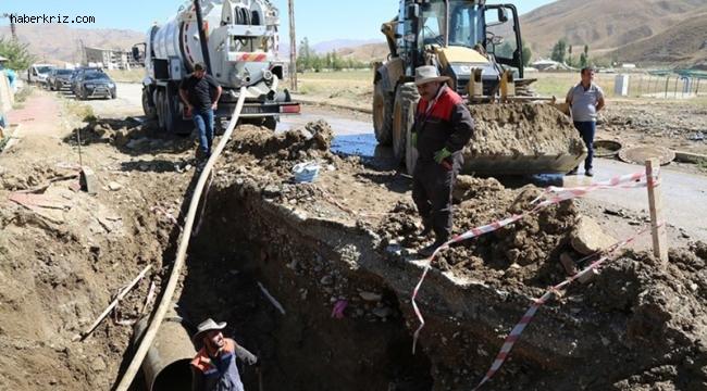 Yüksekova'da artık sular kesintisiz akacak