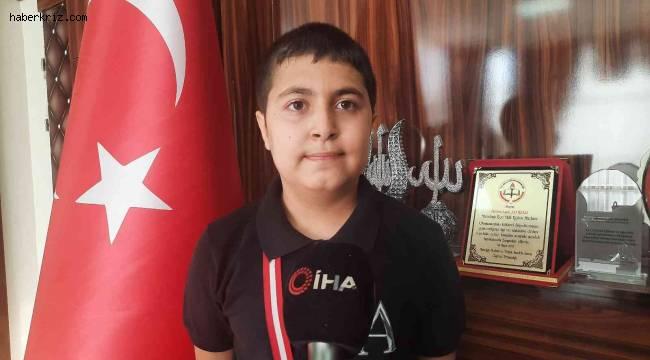 Türkiye Satranç Şampiyonası'nda ikinci olan olan milli takım oyuncusuna ödülü verildi